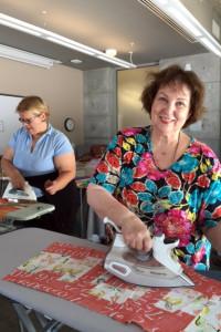 Lynne Maja ironing